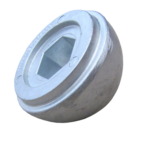 Quick zinc anode nut for BTQ185