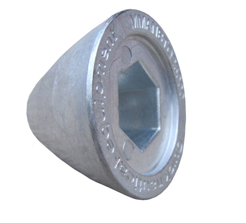 Quick zinc anode nut for BTQ250