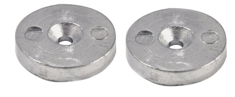 Pair of Frigoboat keel cooler anodes in Zinc