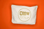 Load image into Gallery viewer, Olew Organic Cotton Toiletry Bag