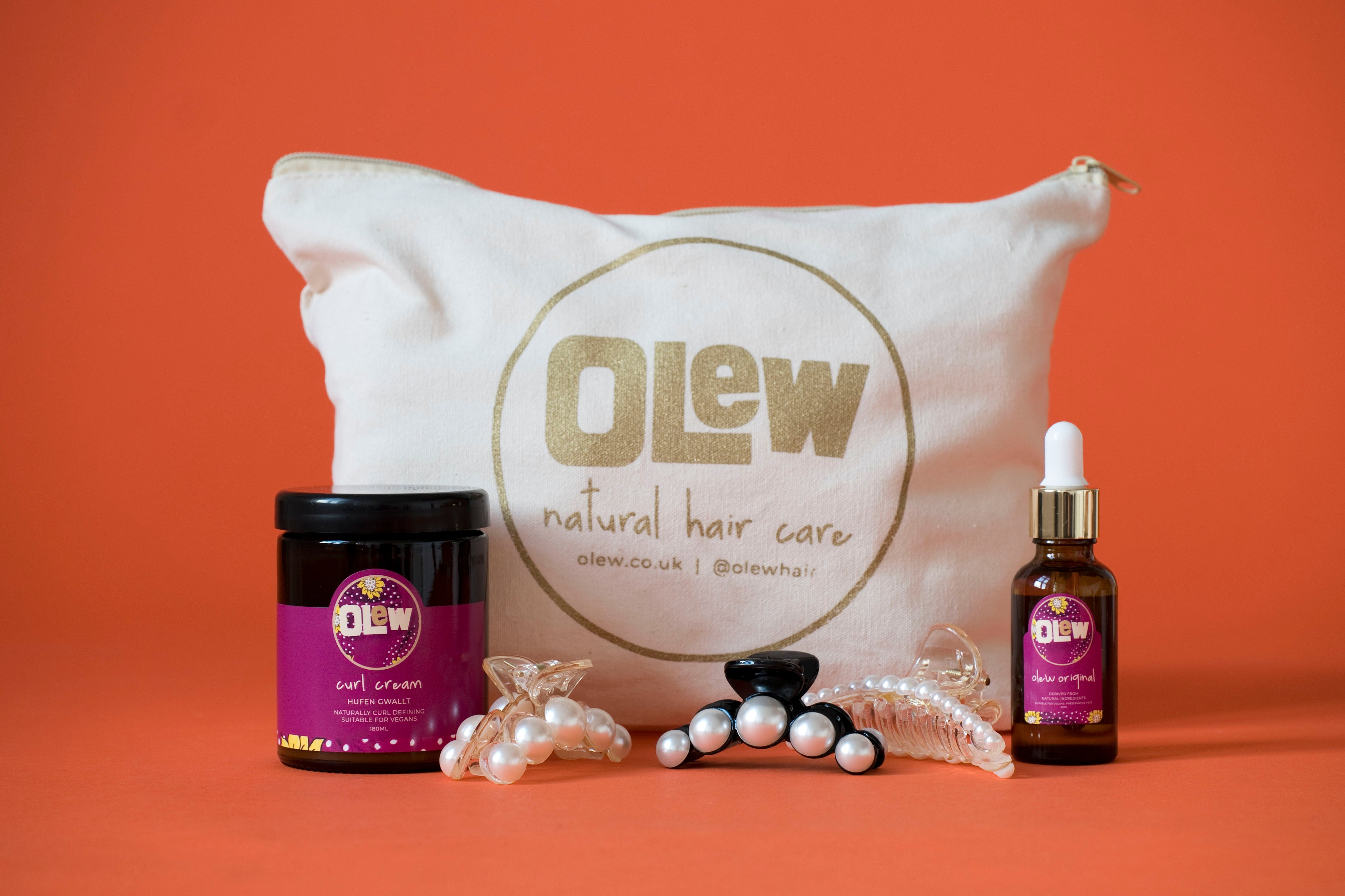 The Curl Cream & Olew Original Gift Set