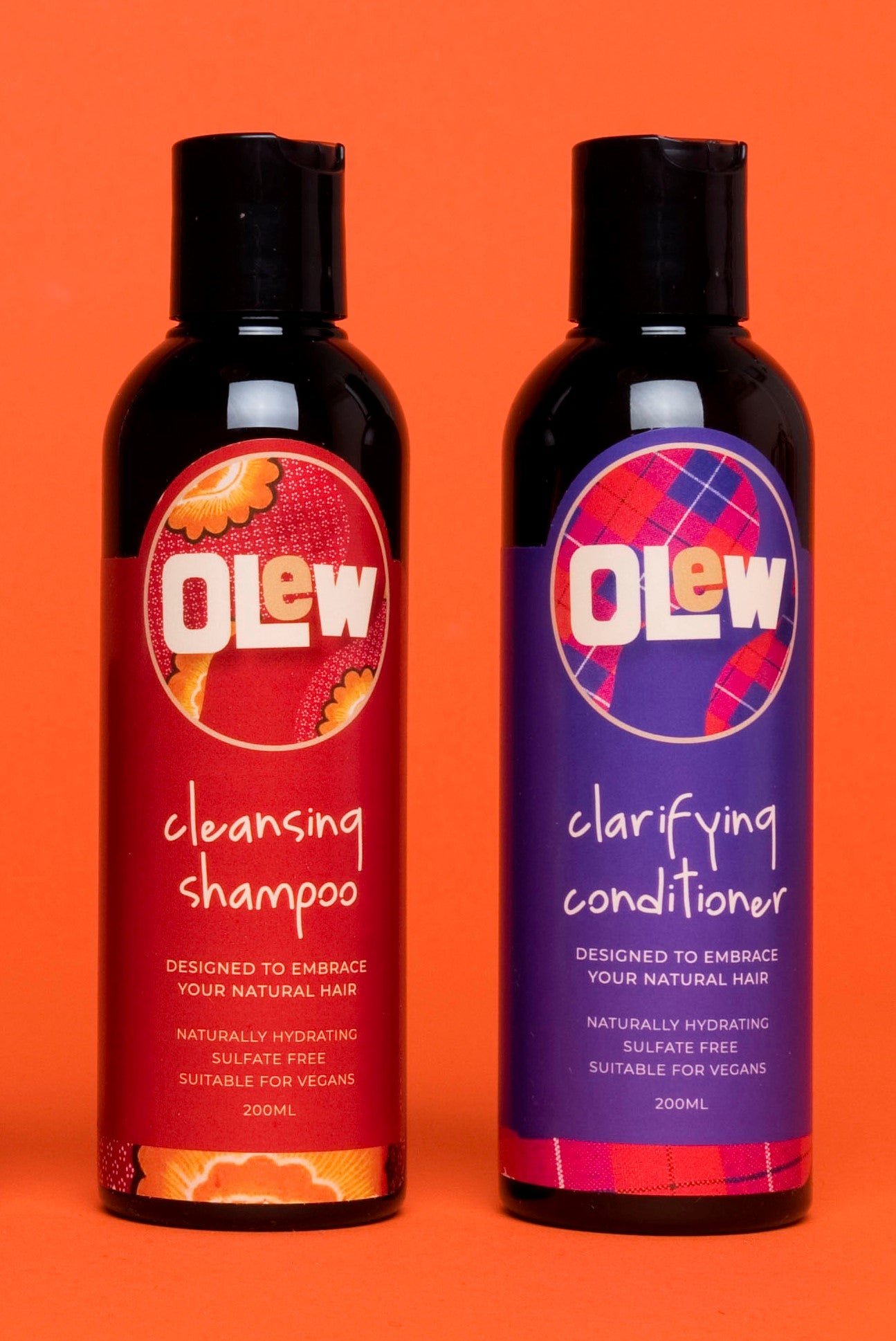 The Olew Wash Day Combo - Shampoo & Conditioner