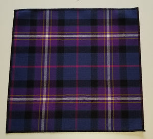 "Freemason's Universal Tartan 10""x10"" Pocket Square"