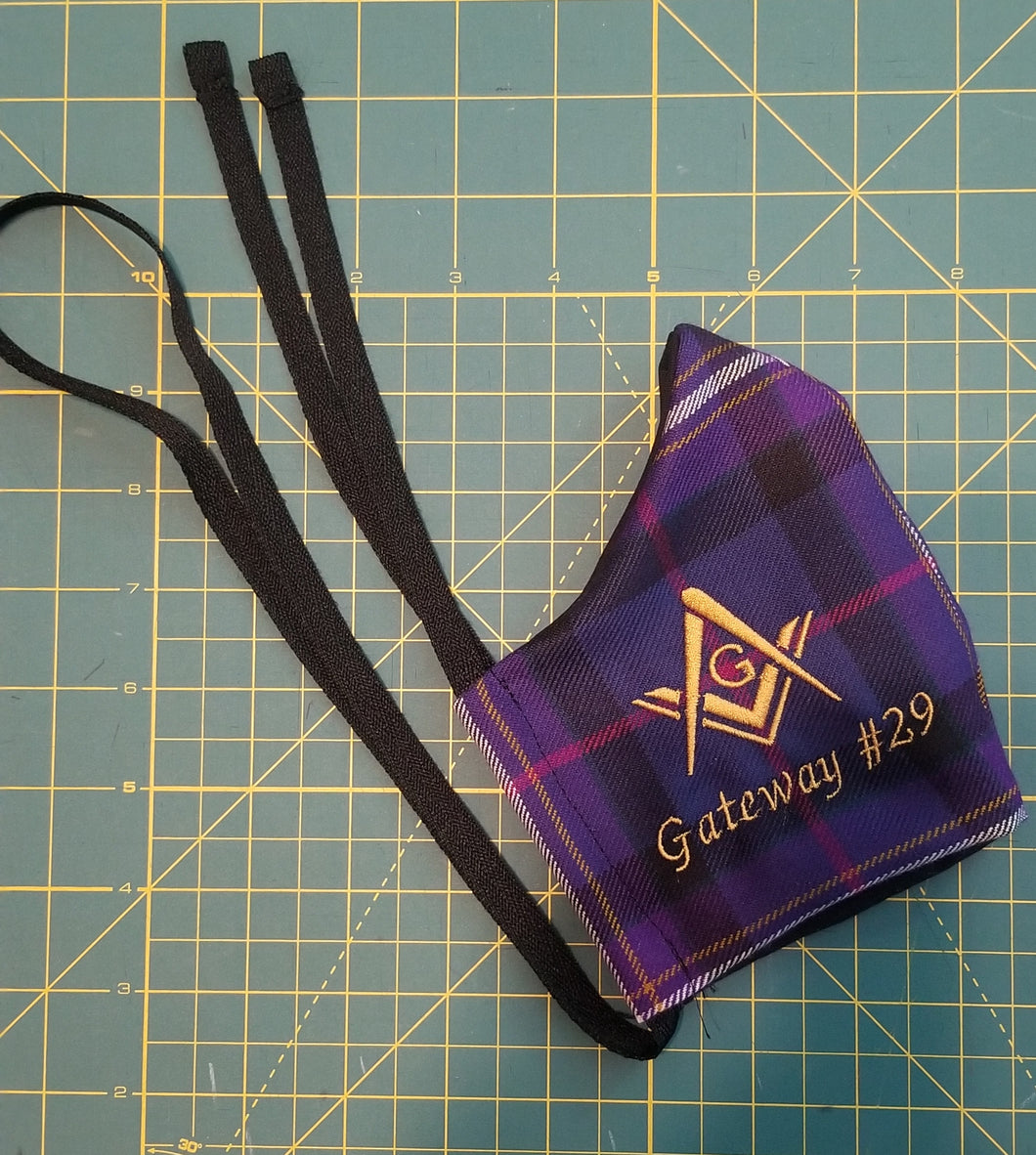 Freemason's Universal Tartan Face Mask - Heavyweight
