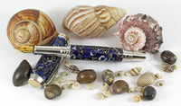 Fitz Fountain Pen with Baby Sea Shells in Resin
