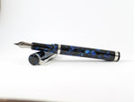 The Blue Silver fountain pen