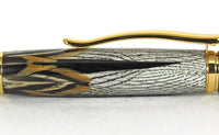 Pembroke with Ringneck Pheasant Feathers