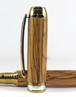 Queens Fountain Pen in Bethlehem Olive Wood