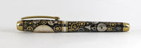 Queens Fountain Watchpart pen with Vintage Rolex dial