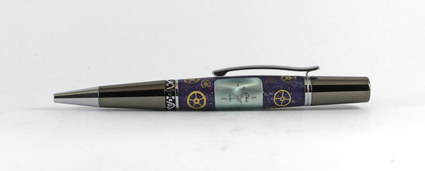 Cambridge Purple Ballpoint pen in Watch Parts