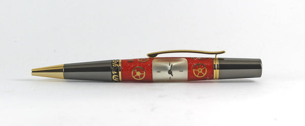 Cambridge Red Ballpoint pen in Watch Parts