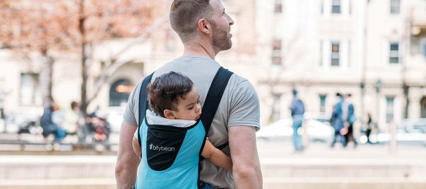 Bitybean UltraCompact Baby Carrier Blue Berry