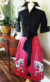 BLACKMORE SKIRT IN SCARLET