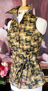 BUNNY CAMO SHIRT WITH SASH