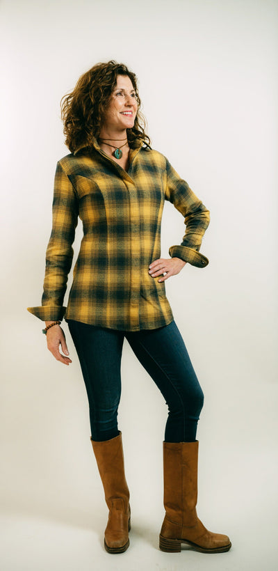 FOREVER FLANNEL IN GOLDENROD