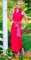 LAUREN DRESS IN PEONY