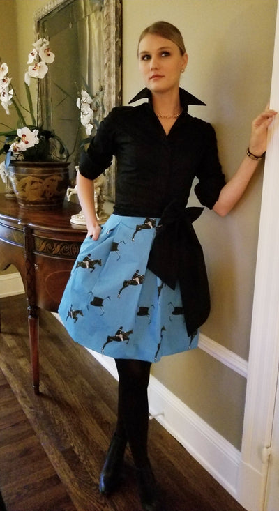 Maureen Skirt in Azure