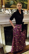 SIR CHARLES FOX SKIRT IN SUGAR PLUM