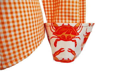 SWEET JANE IN ORANGE CRAB LOVE