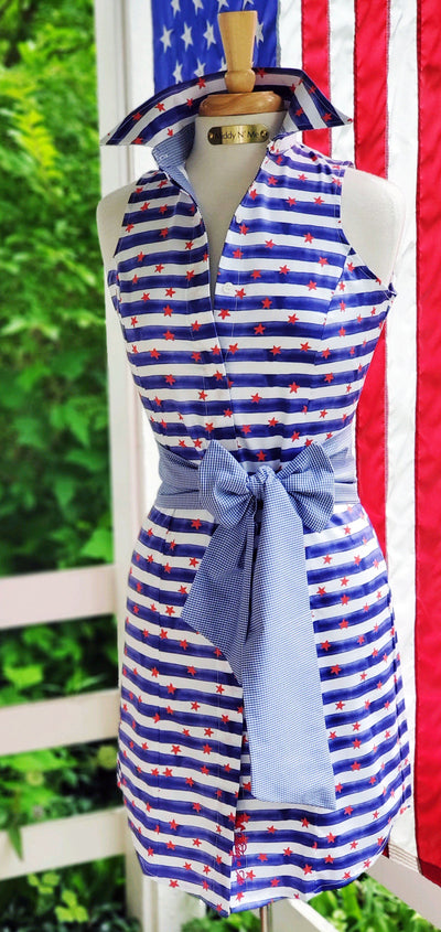 STARS & STRIPES DRESS - Middy N' Me