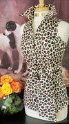 THE LEOPARD ROOM  SHIRT WITH SASH