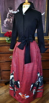 THE DUKE SKIRT IN CRIMSON - Middy N' Me