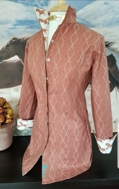 COTY TUNIC IN CHESTNUT