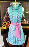 SUMMER SNAFFLES DRESS WITH SASH