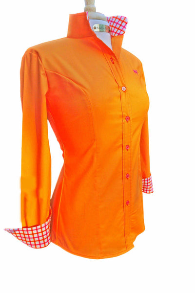 Emily Shirt in Tangerine