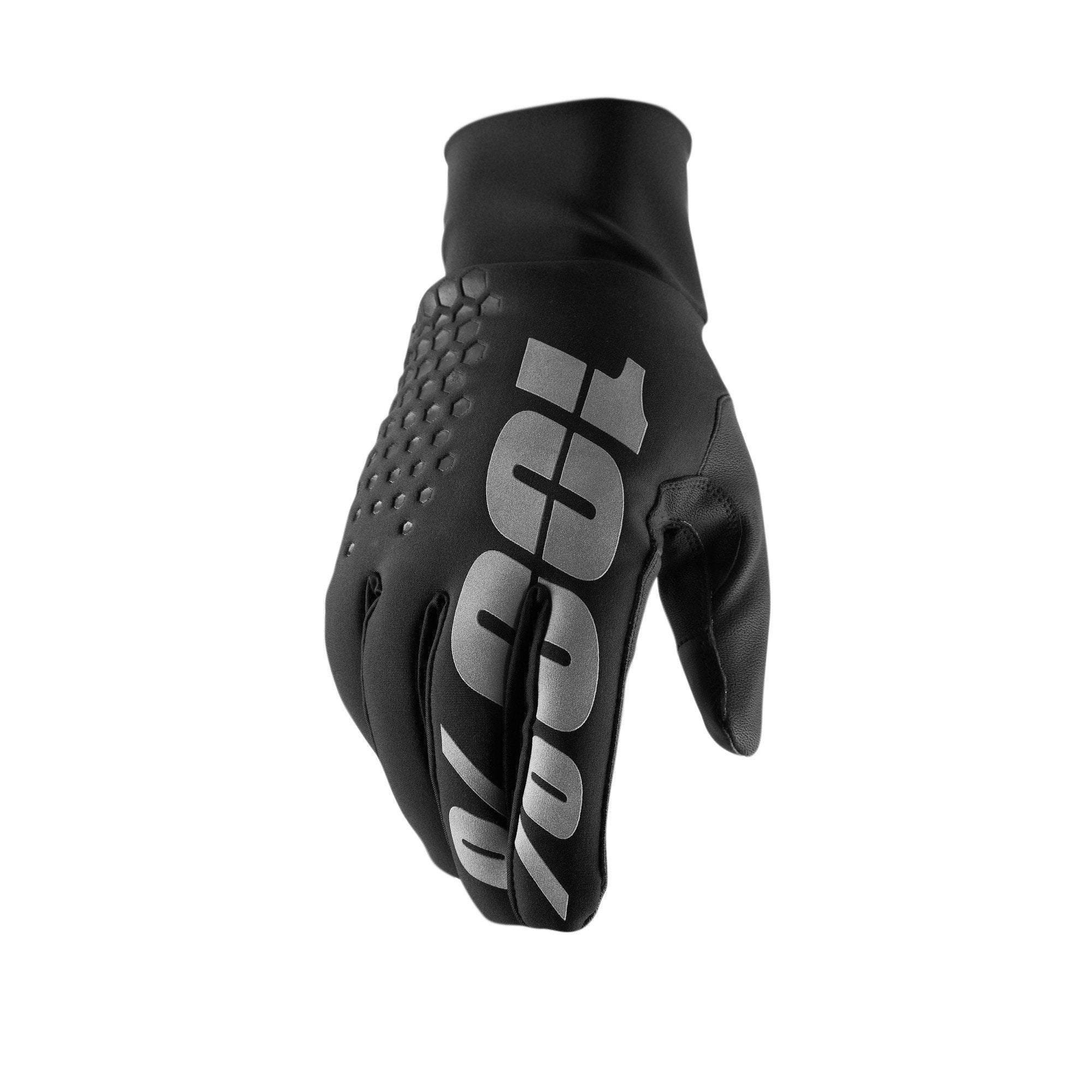 100% Cycle Clothing > Gloves & Mitts 100% Hydromatic Brisker Glove - Black