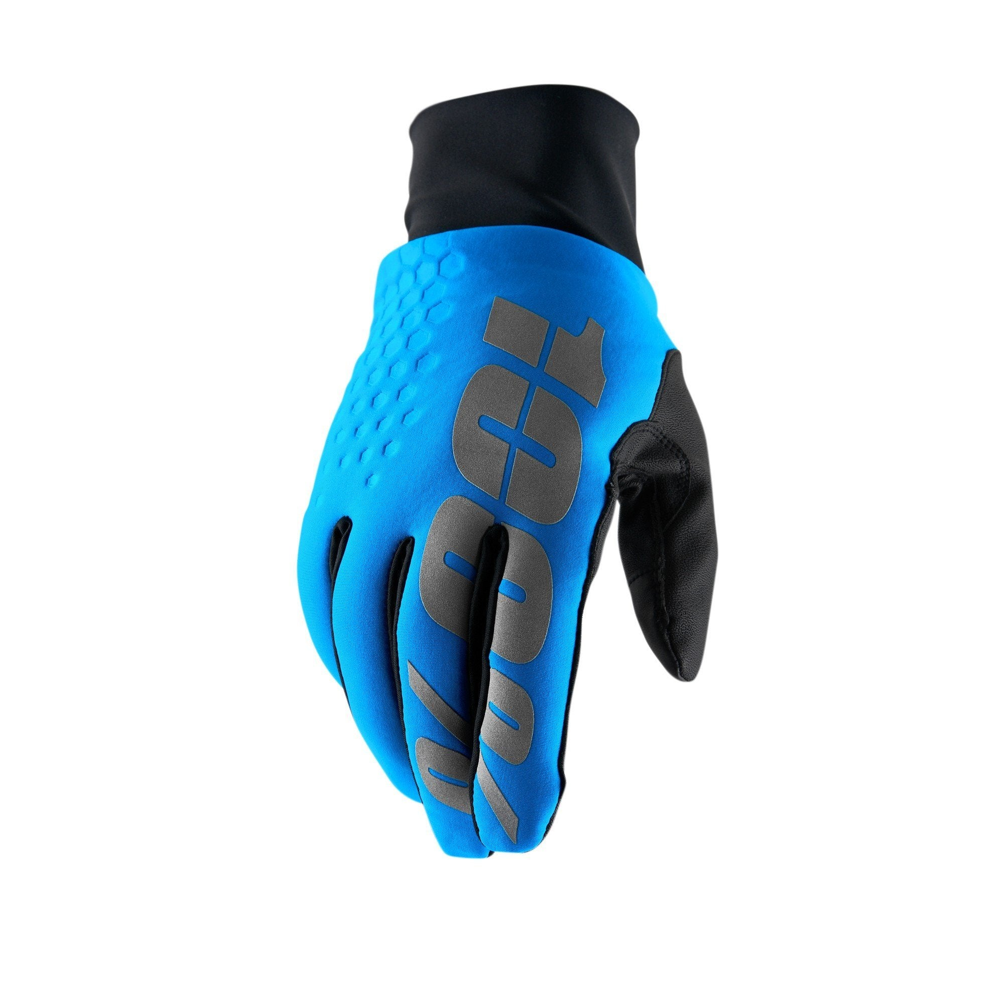100% Cycle Clothing > Gloves & Mitts 100% Hydromatic Brisker Glove - Blue