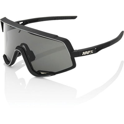 100% Cycle Clothing > Sunglasses 100% Glendale Sunglasses Glendale Soft Tact Black Smoke Lens