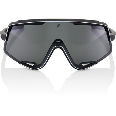 100% Cycle Clothing > Sunglasses 100% Glendale Sunglasses Soft Tact Black Smoke Lens