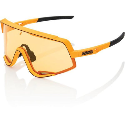 100% Cycle Clothing > Sunglasses 100% Glendale Sunglasses Soft Tact Mustard Yellow Lens