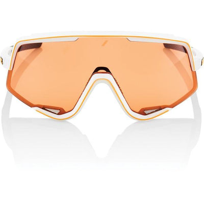 100% Cycle Clothing > Sunglasses 100% Glendale Sunglasses Soft Tact Off White Persimmon Lens