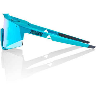 100% Cycle Clothing > Sunglasses 100% Speedcraft - Peter Sagan - Blue Topaz Multilayer Mirror Lens