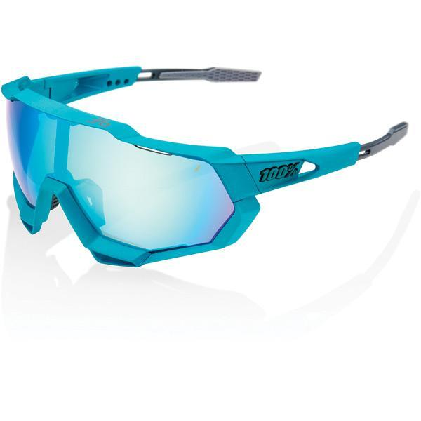 100% Cycle Clothing > Sunglasses 100% Speedtrap Peter Sagan LE - Blue Topaz Multilayer Mirror Lens
