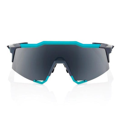 100% Cycle Clothing > Sunglasses Default Title 100% Speedcraft Sunglasses Celeste Green Black Mirror Lens