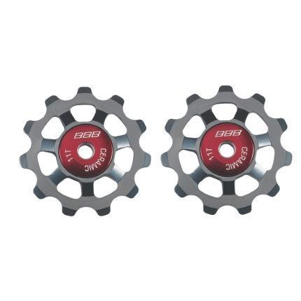 BBB Components > Chains & Chainlinks,Components > Gears BBB ALUBOYS CERAMIC JOCKEY WHEELS 11T GREY BDP22