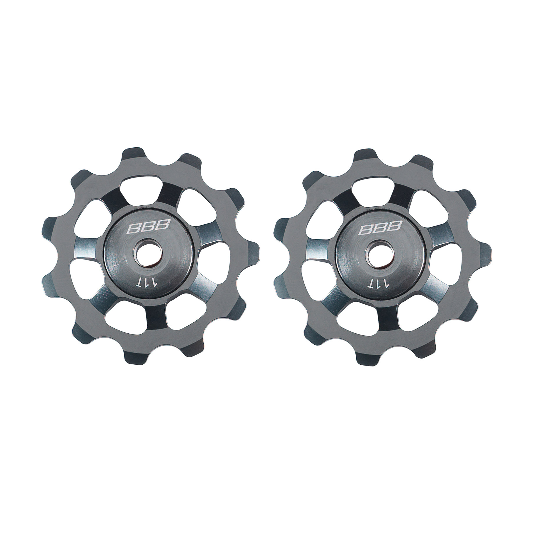 BBB Components > Chains & Chainlinks,Components > Gears BBB ALUBOYS JOCKEY WHEELS 11T GREY BDP-21