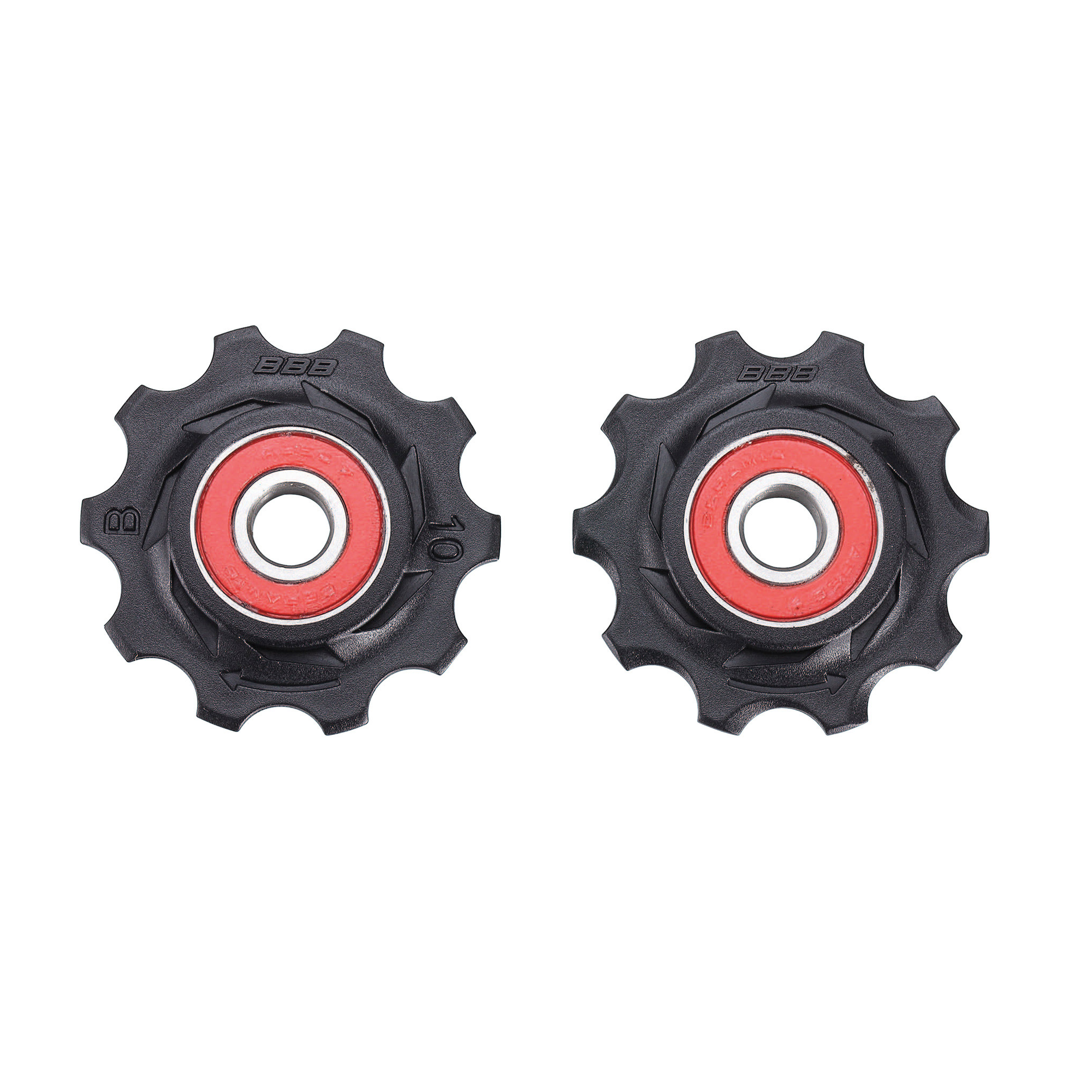 BBB Components > Gears BBB ROLLERBOYS CERAMIC JOCKEY WHEELS 10T BLACK BDP-11
