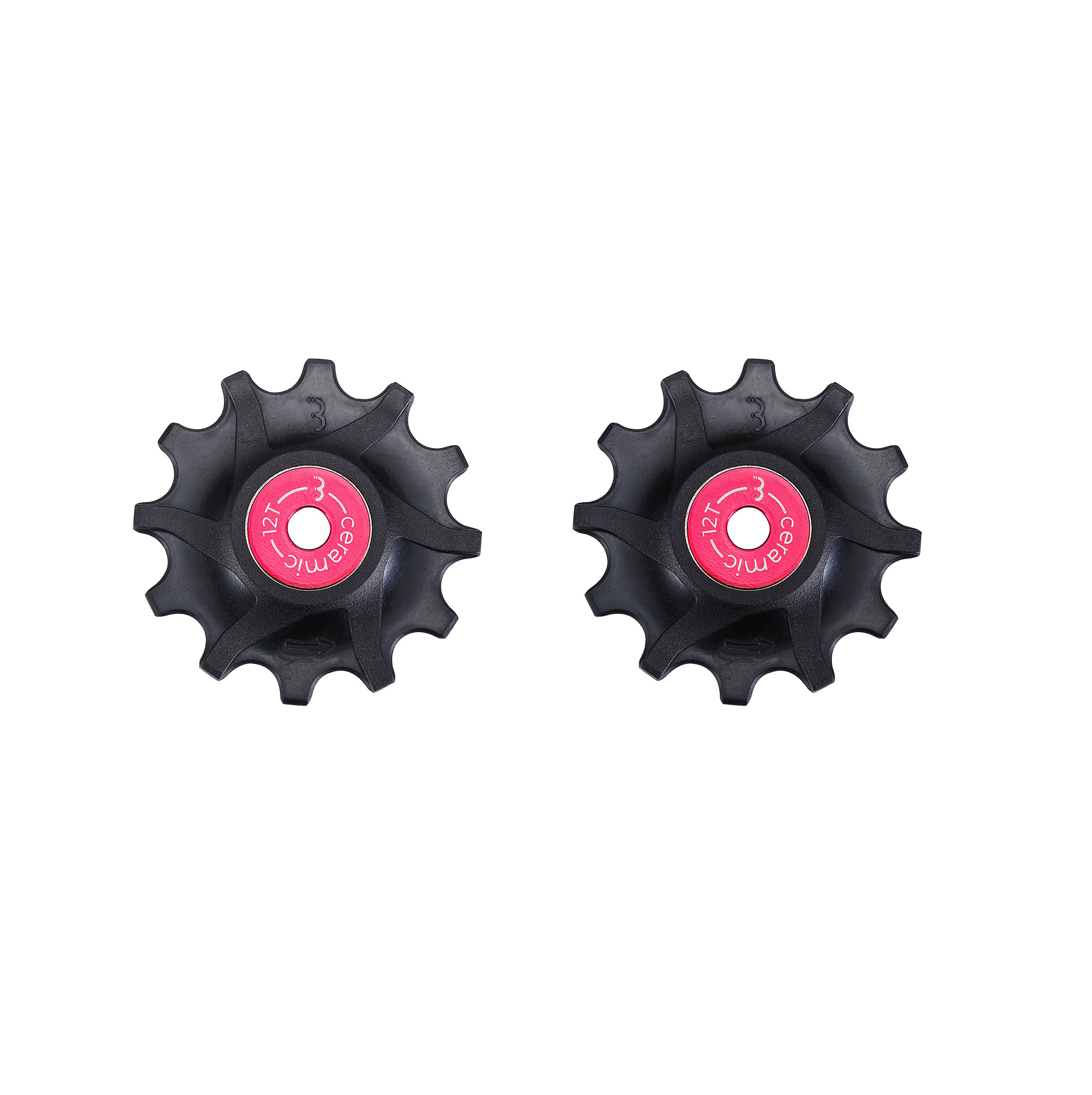 BBB Components > Gears BBB  ROLLERBOYS CERAMIC SRAM JOCKEY WHEELS 12T BDP-16