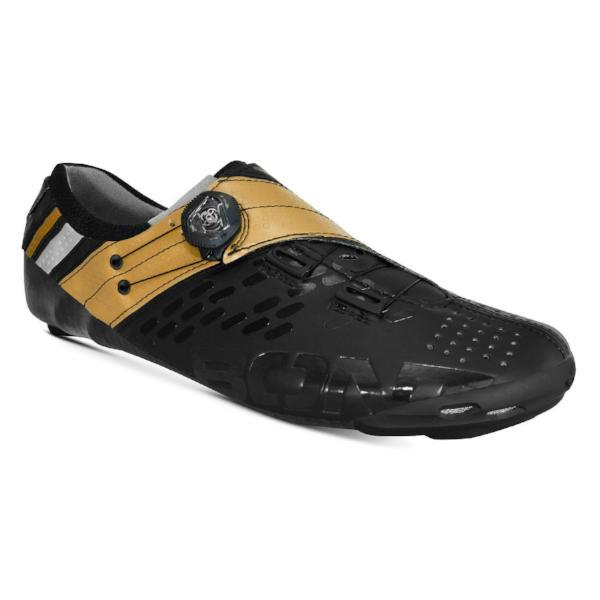 Bont Cycle Clothing > Shoes Black/Gold / 41 Bont Helix Road Cycling Shoes