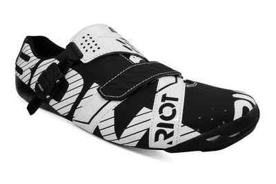 Bont Cycle Clothing > Shoes Black/White / 40 Bont Riot Buckle Road Shoes 2019