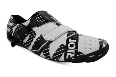 Bont Cycle Clothing > Shoes White/Black / 40 Bont Riot Buckle Road Shoes 2019