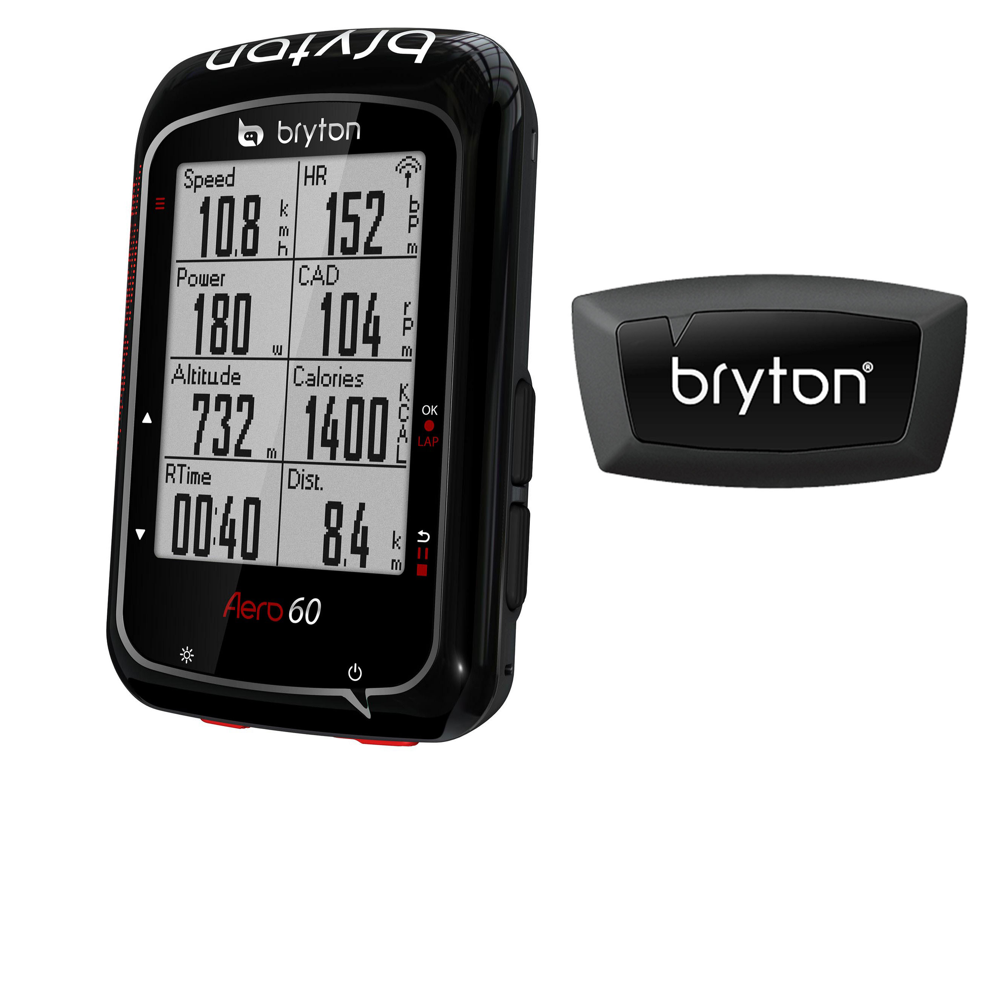 Bryton Accessories > Computers Bryton Aero 60 + Smart HRM