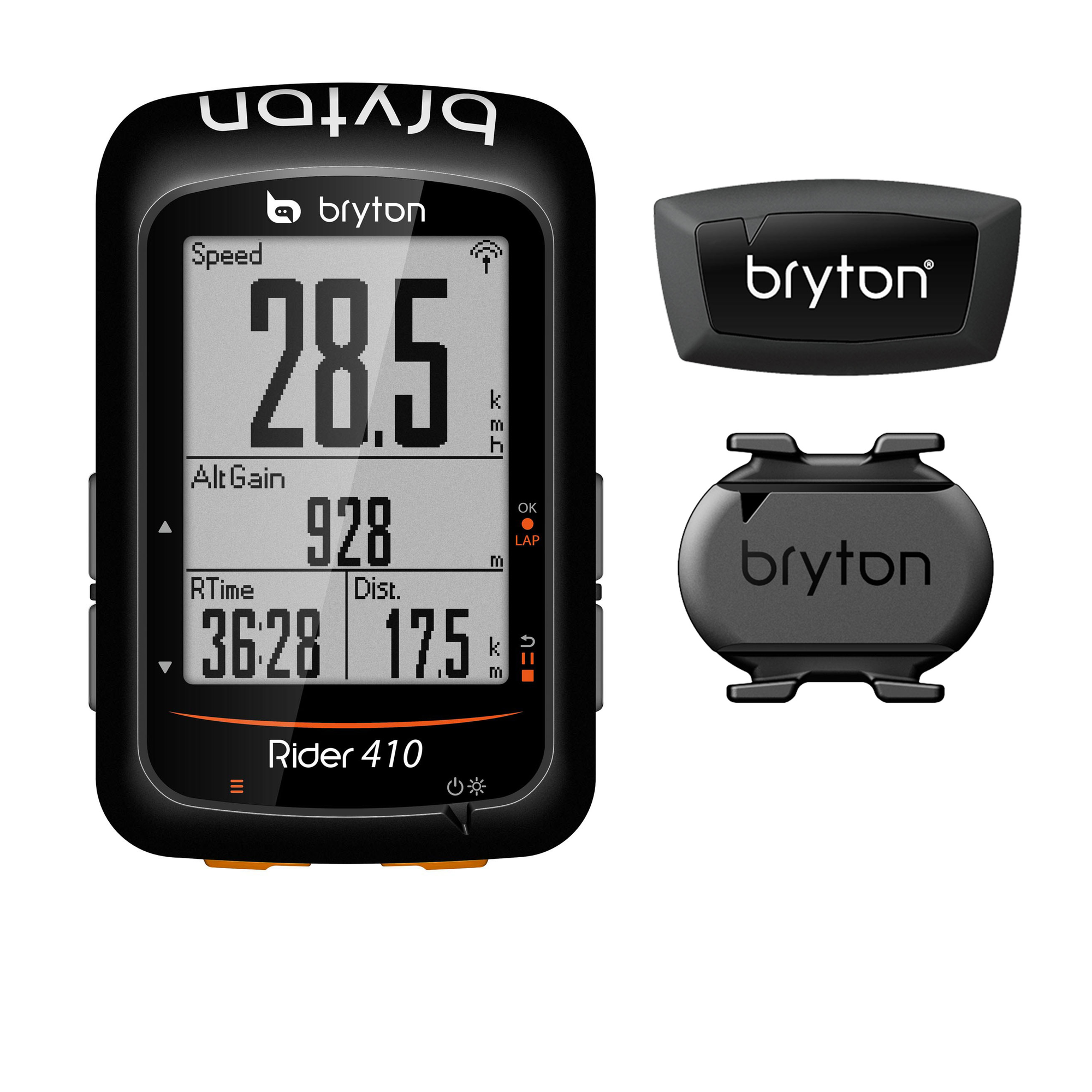 Bryton Accessories > Computers Bryton Rider 410 + Cadence + HRM Bundle