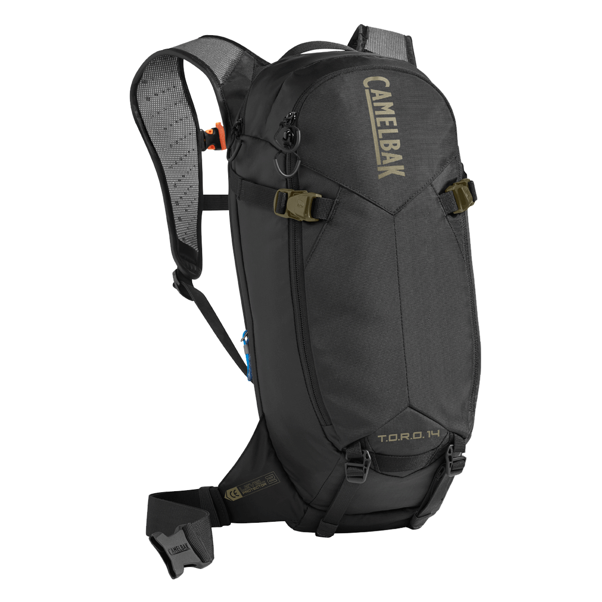 Camelbak Accessories > Bags & Seatpacks Burnt Olive / Black CAMELBAK TORO PROTECTOR 14 DRY HYDRATION PACK