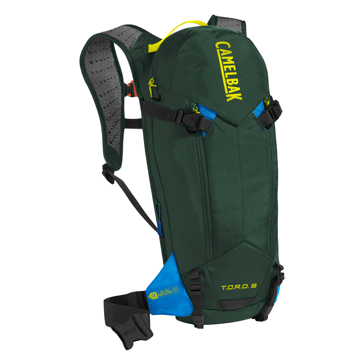 Camelbak Accessories > Bags & Seatpacks Deep Forest / Brilliant Blue CAMELBAK TORO PROTECTOR 8 DRY HYDRATION PACK (2019)