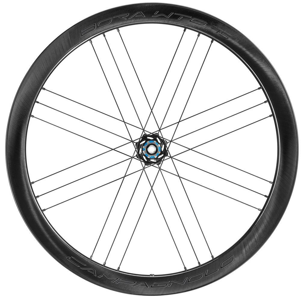 Campagnolo Components > Factory Wheels Campagnolo Bora Dark Label WTO 45 Disc Clincher Wheelset